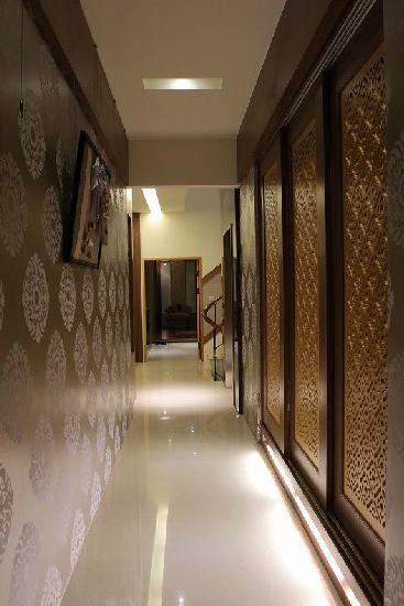 走廊背景墙专业策划设计制作安装-武汉博仪广告有限
